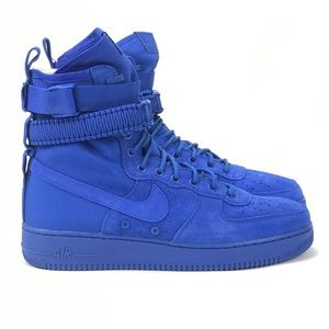 Nike Air Mens SF AF1 Game Royal Blue Boots Sz 9 13 NWT